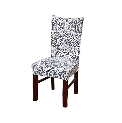 - Kaariss Stretch Removable Washable Short Dining Chair Protector Cover Slipcover, 05