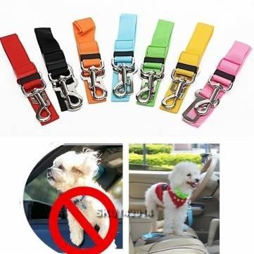 ajustable gato asiento de seguridad para vehículo perro guía arnés ...