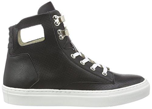 nero Jonny`s Sneaker Moki negro Nero Alte Donna Vegan 611cY7RwqZ