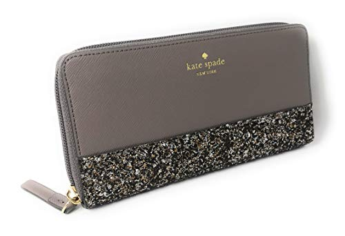 Kate Spade New York Neda Greta Court Leather Zip Around Continental Wallet  City Scape 5d1cd946b0aa0