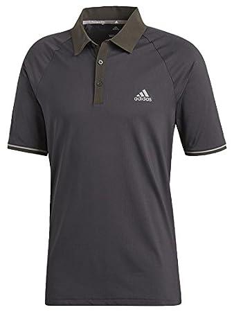 5d6dae66ba Amazon.com : adidas Golf 2018 Climacool Athletic Raglan Polo Mens  Performance Golf Polo Shirt : Clothing