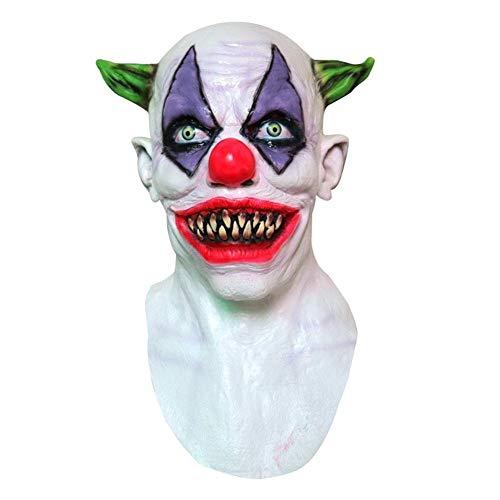 Creepy Evil Scary Halloween Clown Mask Rubber Latex,Halloween