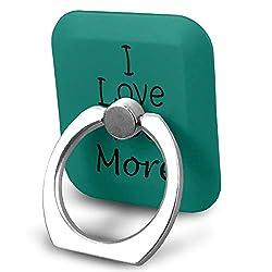 Universal Phone Ring Bracket Holder I Love You More Finger Grip Stand Holder Ring Car Mount Phone Ring Grip Smartphone Ring Stent Tablet