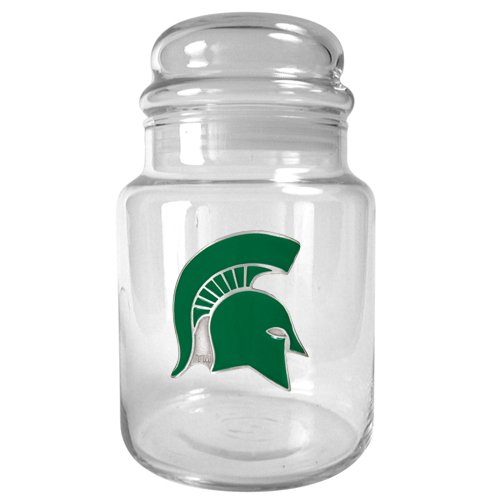 NCAA UCLA Bruins 31-Ounce Glass Candy Jar with Primary Logo