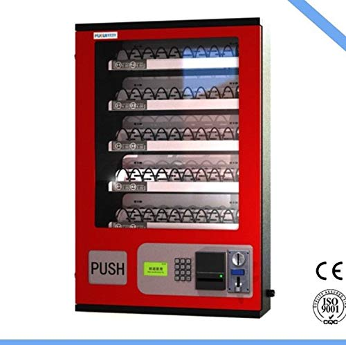 5 Slot Cigarette Candy Food Chips Bathroom Wall Bill Acceptor Vending Machine