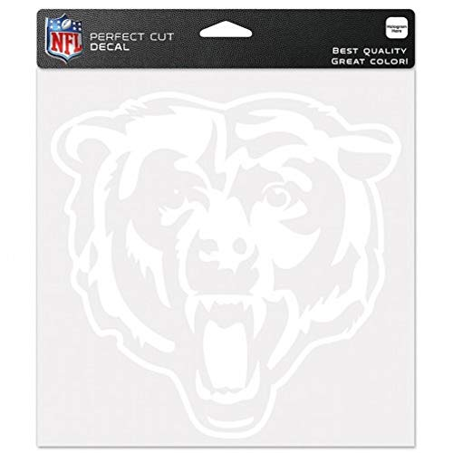 WinCraft NFL Chicago Bears WCR25661014 Perfect Cut Decals, 8