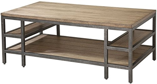 Cocktail Tables, Coffee Tables, The Shelf of Brown Short - 48' Cocktail Table Set