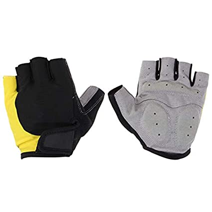 Biking Gloves Men - Mens Cycling Gloves - Cycling Gloves Half Finger Mens Gel Shockproof Breathable