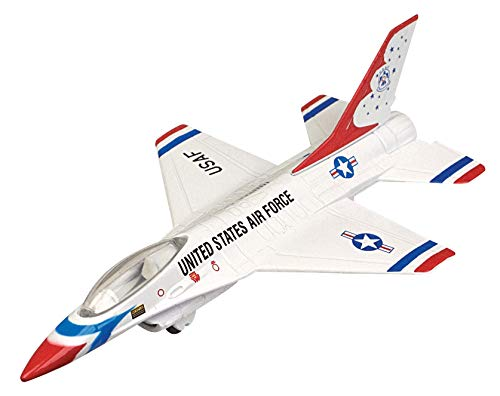 Sky Wings Diecast F-16 Falcon Thunderbirds - 6