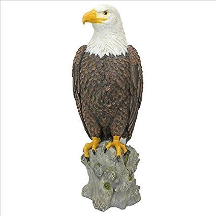 Design Toscano Majestic Mountain Eagle Garden Statue, Full Color