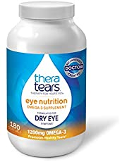 Thera Tears Omega 3 Supplement for Eye Nutrition