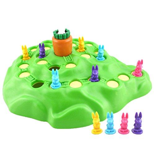 【ノーブランド品】カウントスキルため 面白い ウサギ ボードゲーム おもちゃ 子供 贈り物の商品画像