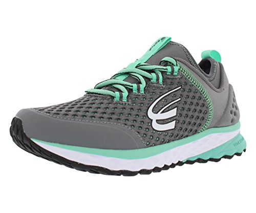 Spira Phoenix Mens Running Shoes With Springs Charcoal Mint White cmLuD0dk