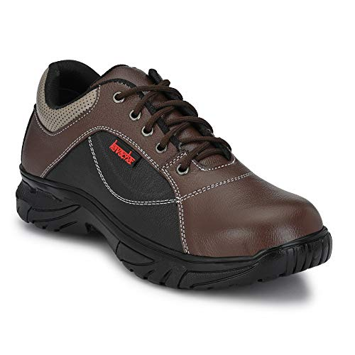 Kavacha Pure Leather Steel Toe Safety Shoe, S70 Size : 8 Price & Reviews
