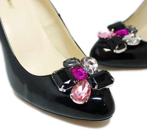 Color Block Shoe Clips by Foot Petals