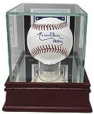 Randy Johnson Signed Baseball - HOF 15 w HOF Glass Display Case - JSA Certified - Autographed Baseballs
