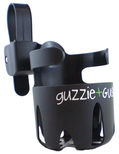 GuzzieGuss Universal Cup Holder, Black