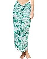 4c741bd0f3 Womens Sarong Chiffon Pareo Beach Tassel Striped Swimwear Cover Up Swimsuit  Wrap
