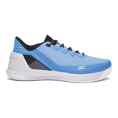 Under Armour UA Curry 3 Niedrig Carolina Blau / Gletscher Grau / Schwarz