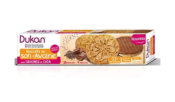 Amazon.com: Dukan Diet Oat Bran Cookies with Chocolate ...