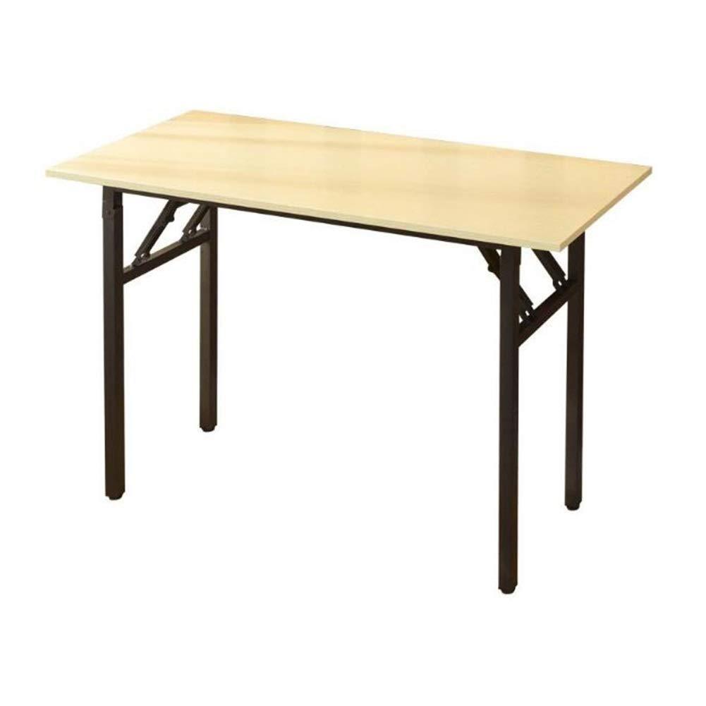 CJC テーブル テーブル、コンピュータデスク、ヘビーデューティポータブル折りたたみ会社オフィスピクニックガーデンビーチキャンプ (色 : 80*40*75cm) B07NZ6J5PJ 80*40*75cm