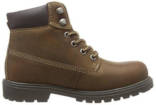 Dockers 310712 - Botas de cuero para mujer marrón - Braun (cafe 020)