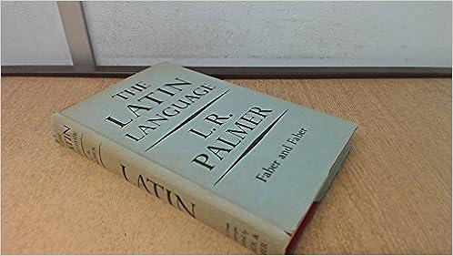 Latin Language (Great Languages), Palmer, Leonard Robert