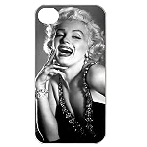 SUUER Rubber Silicone Custom Marilyn Monroe Skin Personalized Custom Rubber Tpu CASE for iPhone 5 5s Durable Case Cover