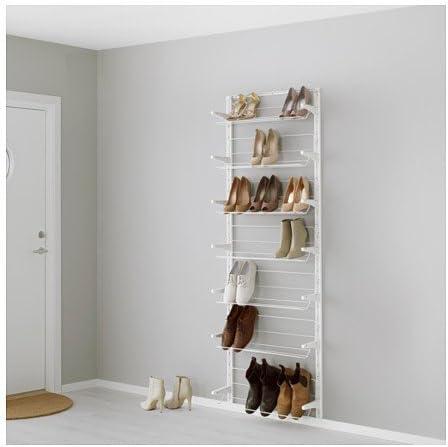 Ikea Algot – Riel de pared/ – Zapatero Sistema de ...