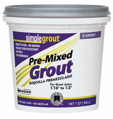 Simplegrout Pre-Mixed Grout Haystack Qt ()