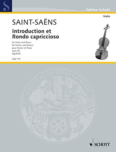 Introduction et Rondo Capriccioso, Op. 28: for Violin and Piano