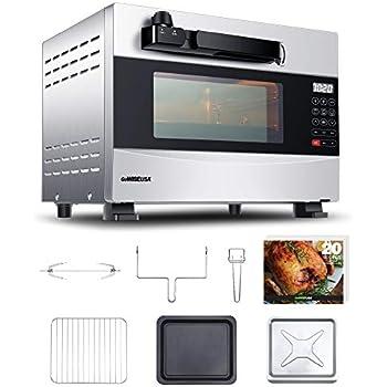 Best Rotisserie Oven 2020 Amazon.com: GoWISE USA GW22710 27 Quart Electric Programmable w