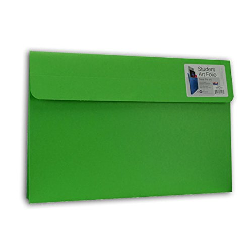 Star Products Student Art Folio Small Evergreen 5 Pack