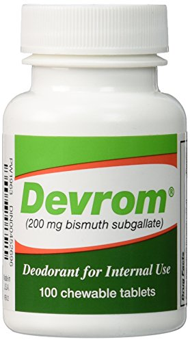 Devrom Tablets Bottle of 100 Tablets,new and old package alternate