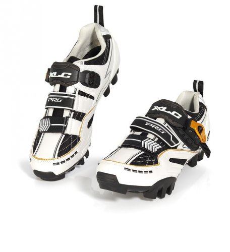 Xlc - Zapatillas Pro Mtb 'Offroad' Cb-M02 - Talla : 46 - Color : Blanco/Negro
