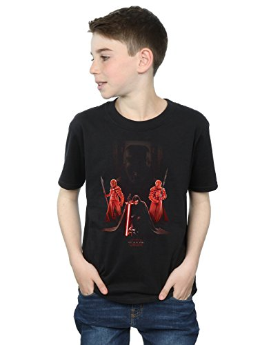 Star Wars Boys The Last Jedi Kylo Ren Kneeling T-Shirt 12-13 Years Black
