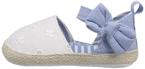 Pictures of Luvable Friends Girl's Bow Espadrille Sandal 4 M US Toddler 5