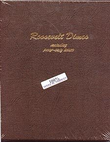 Dansco Coin Album #8125 for Roosevelt Dimes: 1946-2013 w/proofs ()