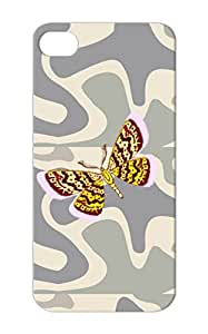 Butterfly Pupa Moths Insects Wings Butterfly Larva Egg Flight Animals Nature Purple Protective Case For Iphone 5