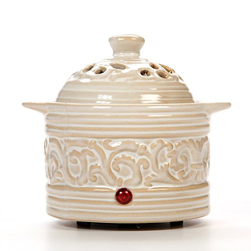 Hosley Candle Company Cream Electric Potpourri Warmer (Pot Potpourri compare prices)