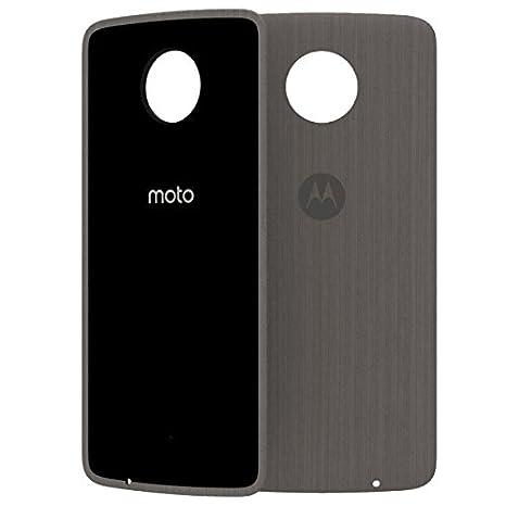 2020 ASMCAPSLOKEU Moto Mod- Funda móvil Style Shell, Color Roble ...