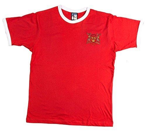 Retro NOTTINGHAM FOREST AÑOS 70 Fútbol Camiseta Nueva Tallas S-XXL logo bordado