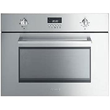 Smeg SC445MCX, 3400 W, Acero inoxidable - Microondas: Amazon ...