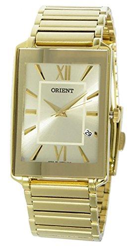 Orient Quartz Unisex Watch SUNEF006C0 Gold