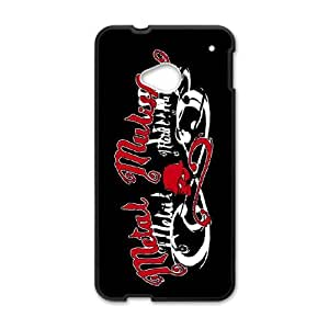 Classic Case Metal Mulisha pattern design For HTC ONE M7 Phone Case