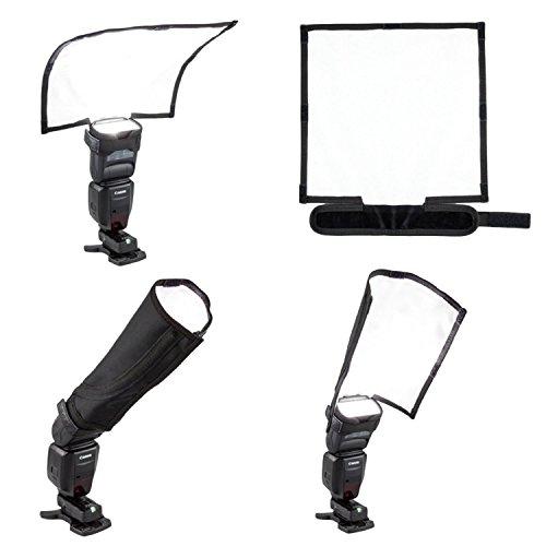Fomito faltbar Speedlight Reflektor Snoot versiegelt Flash Softbox Diffusor Bender