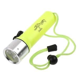 TOMTOP LED Submarine Light Diving Flashlight Underwater Torch Waterproof CREE Q5 Lamp