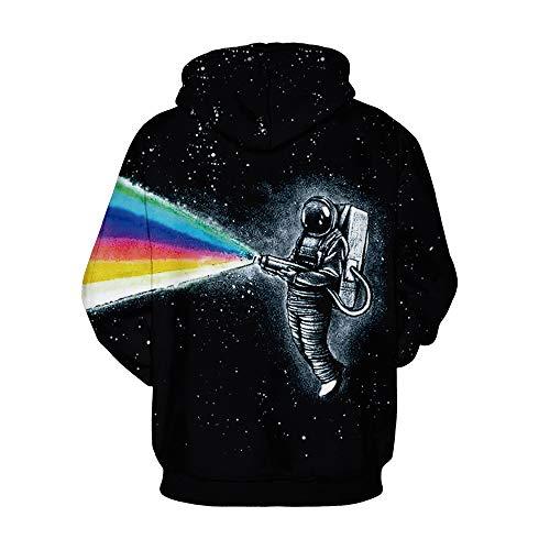 Capuche Robert Amoma À Homme shirt Rainbow Sweat wq817Ug