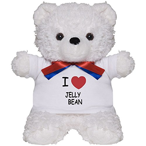 CafePress - I Heart Jellybean - Teddy Bear, Plush Stuffed An