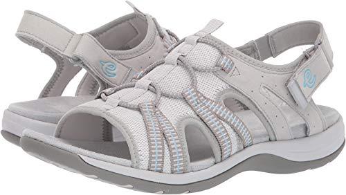 Easy Spirit Sparks Women's Sandal 7.5 C/D US Mist Grey ()